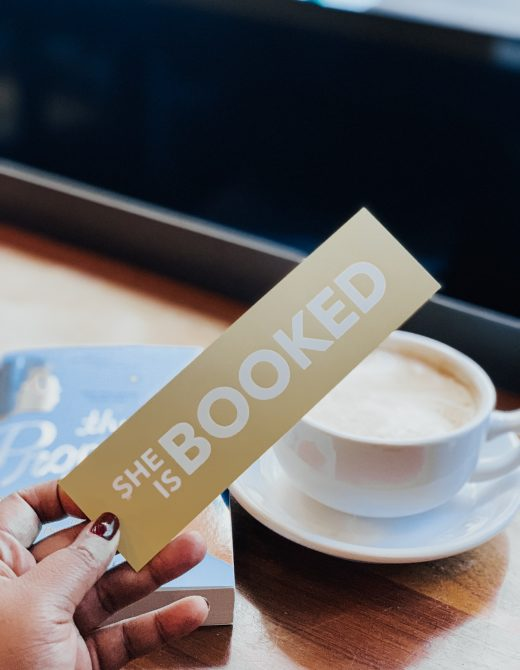 she is booked bookmark