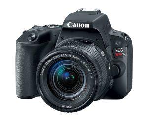 Canon SL2 DSLR Camera