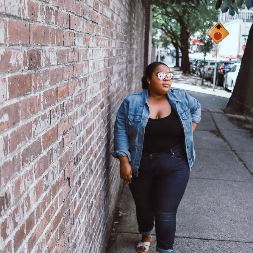 Being a blogger when you aren't body goals
